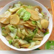 卷心菜炒土豆