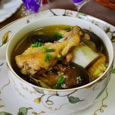 山药香菇炖草鸡