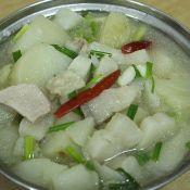土豆炖猪肉