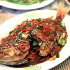 红烧红鲷鱼