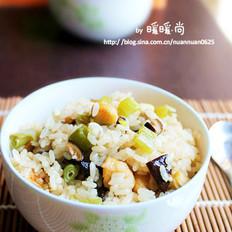 香菇鸡肉焖饭