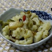 豆豉蒸花菜