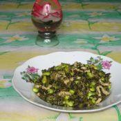 雪菜毛豆炒肉丝