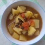 卤子炖土豆