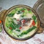 浓香鱼头汤