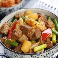 泡菜萝卜炒牛肉