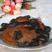 香菇黑木耳烧素鸡