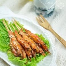 黑椒烧烤风味虾