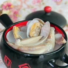 鸭掌杏鲍菇蛤蜊汤