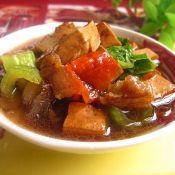 豆腐回锅肉