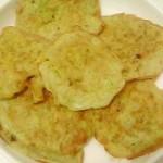 南瓜鸡蛋面糊饼