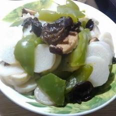 香菇木耳煮山药