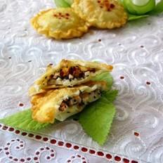 奶香红枣花生饼