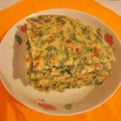 芹菜叶鸡蛋全麦饼
