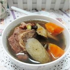 黑豆牛蒡猪骨汤