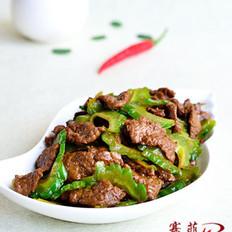 蔥香苦瓜炒牛肉