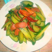 干辣椒煸黃瓜