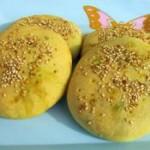 韭菜鸡蛋杂粮饼