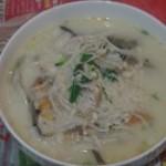 金针菇鱼肉汤