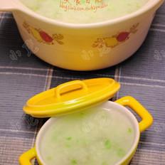 西芹牛肉砂锅粥的做法