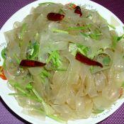 香菜炒宽粉