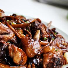 茶树菇麻油香锅鸡的做法大全