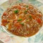 西红柿牛肉盖饭