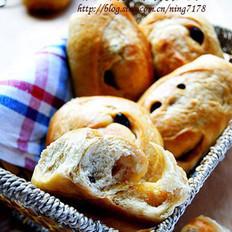 红糖葡萄干面包