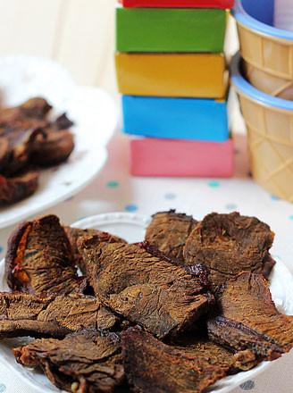 自制牛肉干的做法