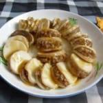 蚝油鲍菇夹