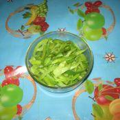 青椒炒蛇豆