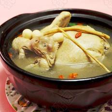 黄芪莲子煲山鸡