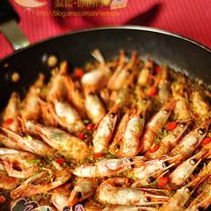 咖喱藜麦甜虾饭