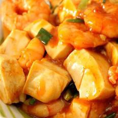 虾仁溜豆腐