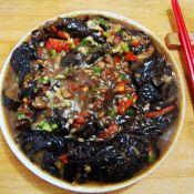 香菇酱焖蓑衣茄子