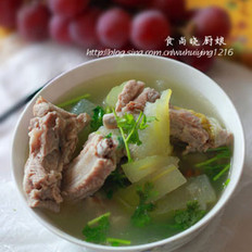 排骨冬瓜汤