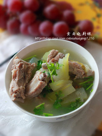 排骨冬瓜汤的做法