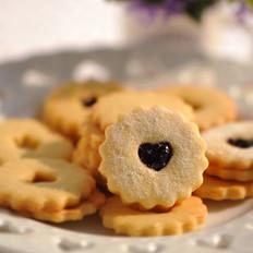 蓝莓果酱小甜饼