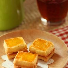 乳酪奶油夹心酥饼的做法