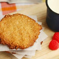 焦糖燕麦饼干