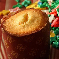 橙汁杯子蛋糕