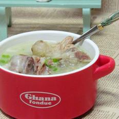 韩式牛尾汤