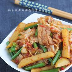 小炒泡菜土豆条