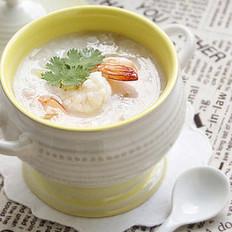 砂锅鲜虾粥