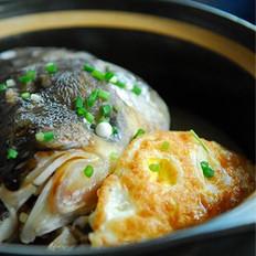 荷包蛋鱼头汤