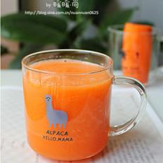 蜂蜜胡萝卜苹果汁