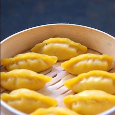 胡萝卜肉蒸饺