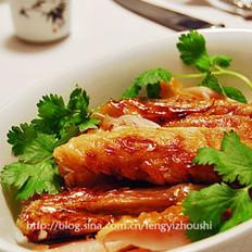 中式烤火鸡