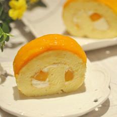 芒果奶油卷
