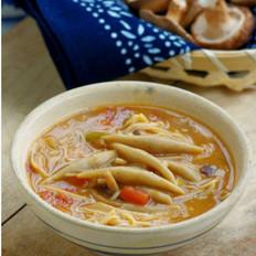 蘑菇莜面鱼鱼